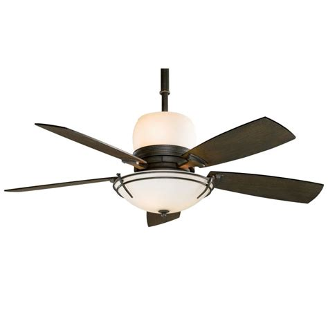 Ceiling Fan With Uplight And Remote - fanimation hf7600ds smoke 54 quot 5 blade ceiling fan