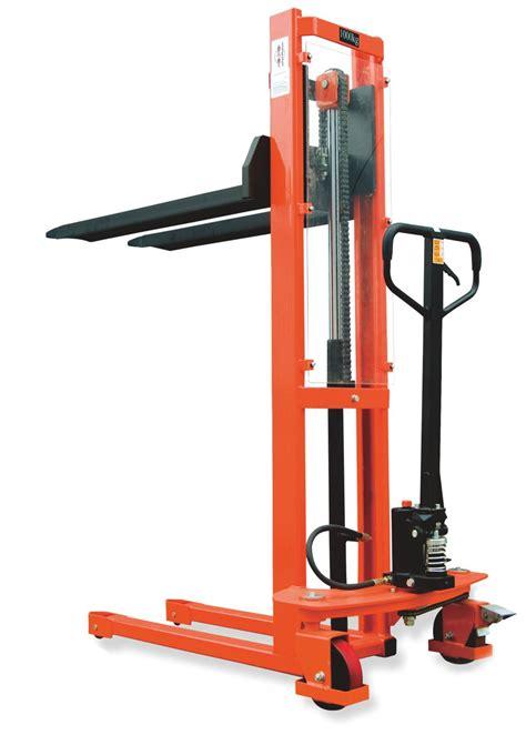 Liftrer Stacker Manual 1000 standard manual hydraulic stacker fc 1016 1 5m lift 1000kg