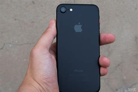 Iphone 7 Schwarz Matt Polieren by Apple Iphone 7 Test Testr At