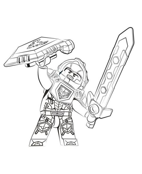 coloring pages lego knights kids n fun com 29 coloring pages of lego nexo knights