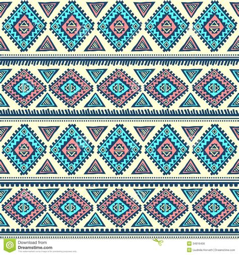 vintage ethnic pattern tribal vintage ethnic pattern seamless royalty free stock
