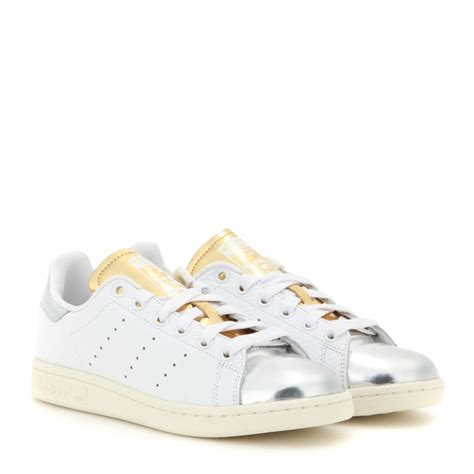 metallic adidas sneakers adidas stan smith metallic and embossed leather sneakers