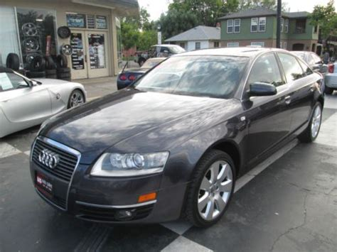 2006 audi a6 4 2 quattro sedan 4d pictures and videos find used 2006 audi a6 quattro base sedan 4 door 3 2l in roseville california united states