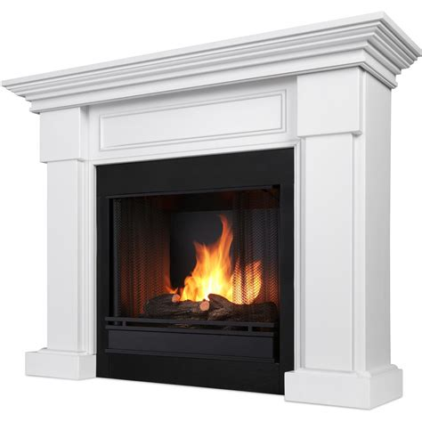 gel fireplace mantels real hillcrest 48 inch gel fireplace with mantel