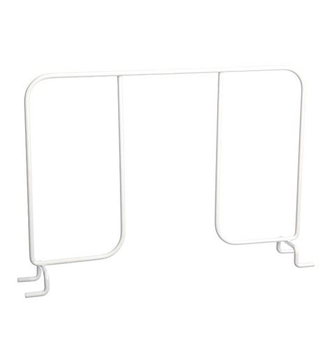 wire shelf divider in shelf dividers