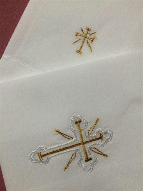 bordados eclesisticos corporal y purificador bordado religioso pinterest
