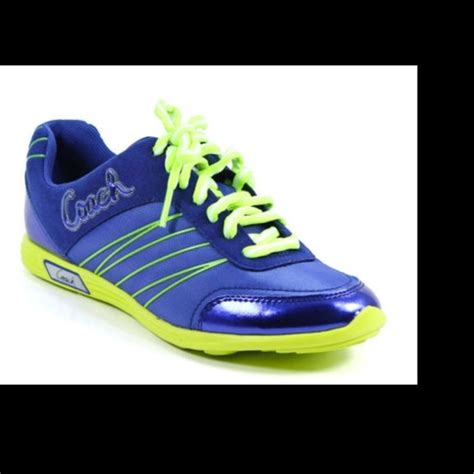 63 coach shoes coach darla tennis shoes blue and