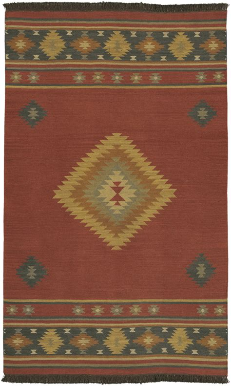 5x8 Area Rugs 100 by Surya Made Wool Southwestern 5x8 Area Rug