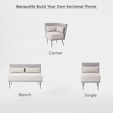build your own banquette emmerson 174 reclaimed wood dining bench west elm