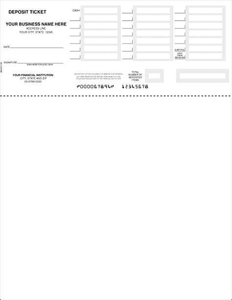 quickbooks deposit slip template bank of america printable deposit slip autos post