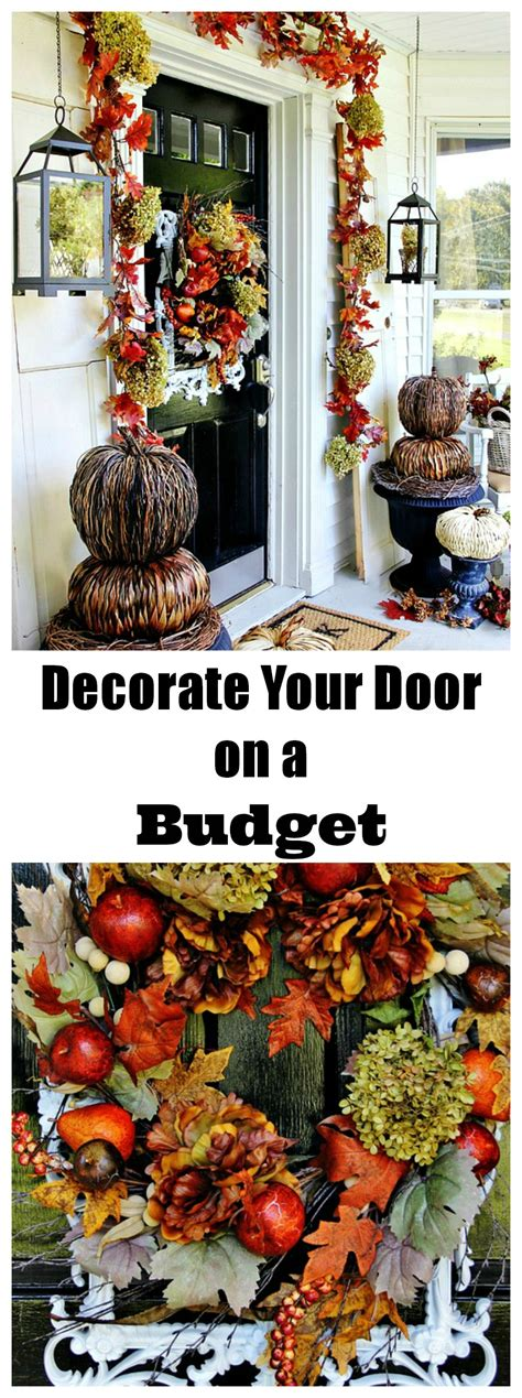 fall decorating on a budget budget fall decorating ideas for the front door