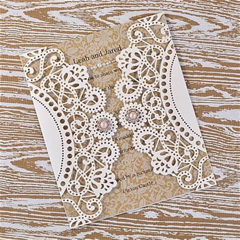 How To Make Paper Lace - how to make doily laser cut lace wedding range