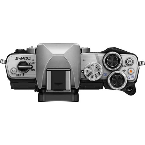 Olympus Om D E M10 Ii Kit 14 42mm Ez Black Kame Berkualitas olympus om d e m10 ii 14 42mm ii r 40 150mm kit silver mirrorless cameras photopoint