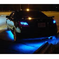 Car Lighting Led Blue Underbody Led Lighting Kit 4 Strips