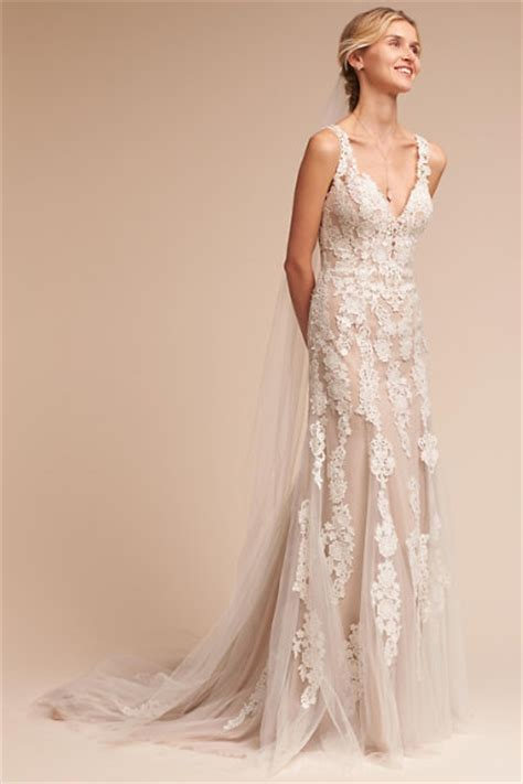 bhldn vintage inspired wedding dresses gowns monarch gown ivory chagne in bride bhldn