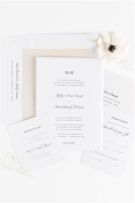 Garden Wedding Invitation Ideas Garden Wedding Invitations In Chagne Wedding Invitations