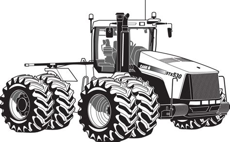 Toy Combine Tractor Colouring Pages Tractor Coloring Pages Farm Tractor Coloring Pages