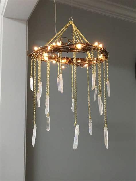 crystal home decor bohemian wood crystal chandelier id lights