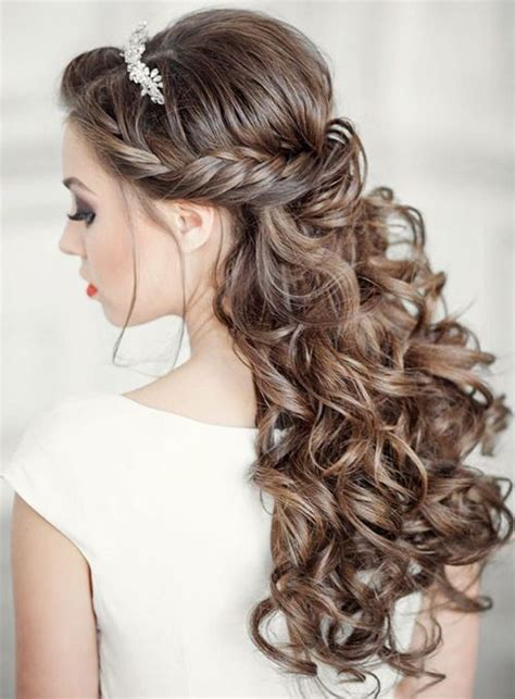 17 best ideas about curly wedding hairstyles on pinterest