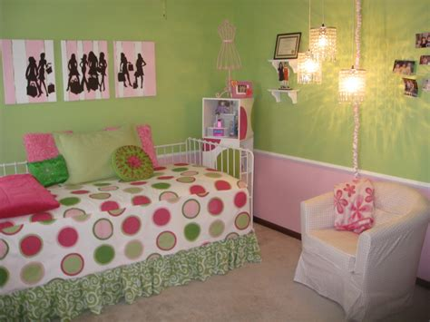 green and pink bedroom ideas beautiful pink decoration