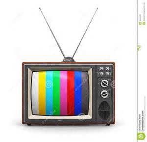 color tv broadcast color tv stock illustration image 39840306