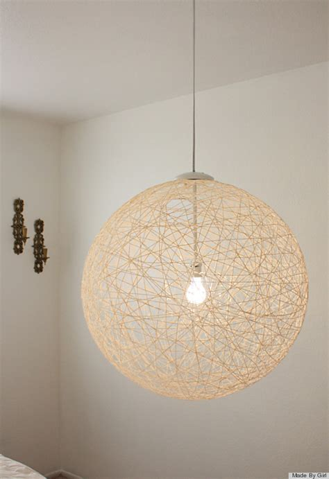 Light Fixture Diy 7 Diy Lighting Fixtures That You Won T Even Believe You Can Make Photos Huffpost