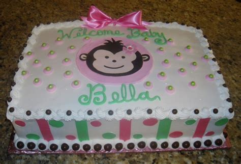 Mod Monkey Baby Shower by Mod Monkey Baby Shower Cakecentral