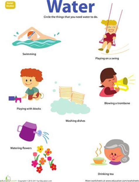 Water Worksheet by Resource Water Kid Free Printables And We