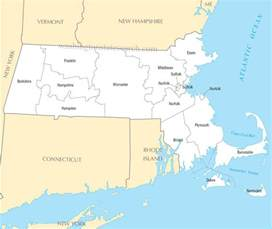 united states map massachusetts a large detailed massachusetts state county map