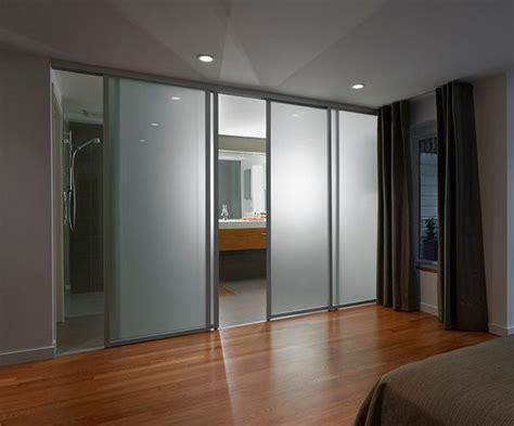 bathroom glass sliding door your best options when choosing a bathroom door type