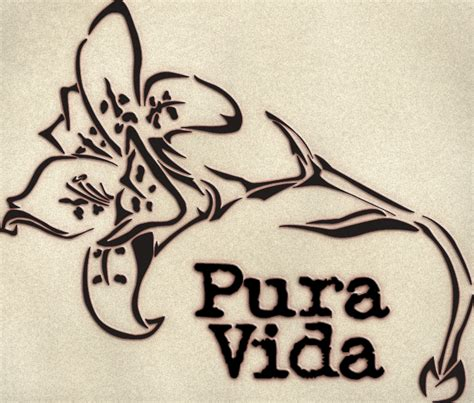 pura vida tattoo pura vida by demonnoa on deviantart