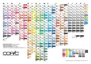 copic colors copic marker espa 241 a cartas de color favorite coloring