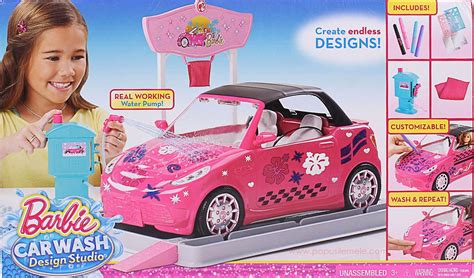 barbie cars from the barbie vehicle car wash design studio box1 jpg 1570 215 923
