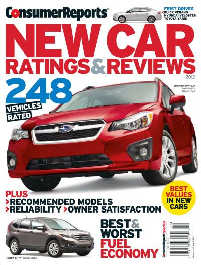 Consumer Reports Car Books by Auto Reviews Consumer Reports 2017 Ototrends Net