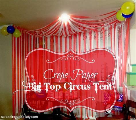 diy carnival decorations circus diy circus tent dessert buffet streamers