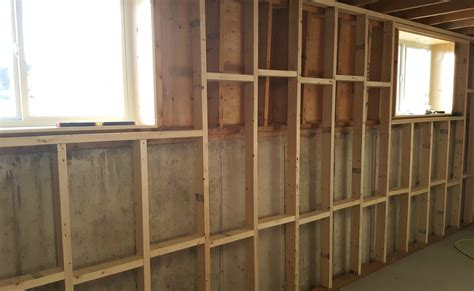 d basement walls turtles and tails basement wall framing insulating