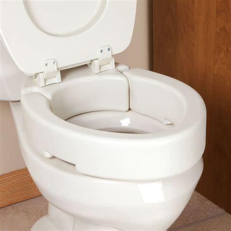 toilet seat risers 2 inch hinged toilet seat riser elevated toilet seat walter
