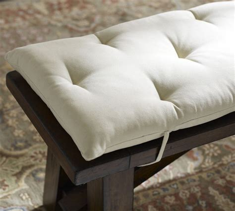 cushion for dining bench tufted bench cushion treenovation