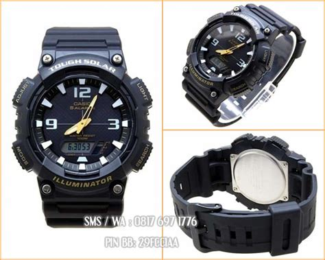 Jam Casio Aq S810w 3av Original promo jam casio solar power original casio indonesia