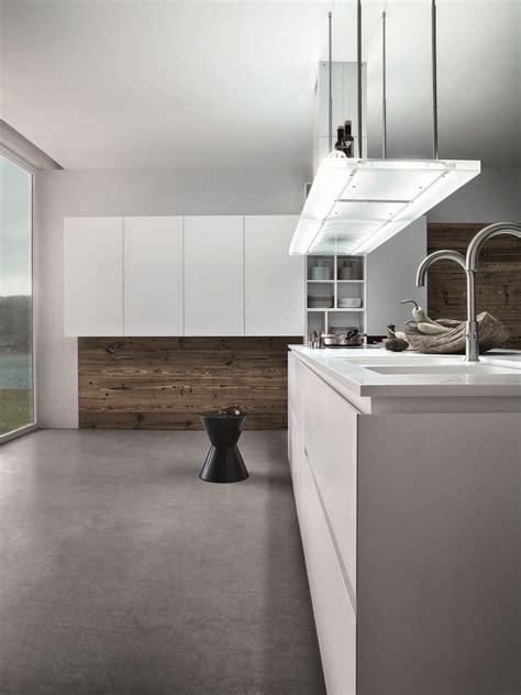 poliform küche wohnzimmer design wand