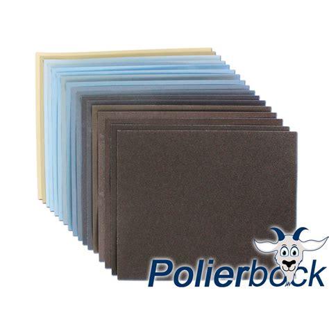Schleifpapier Lack Polieren by Wasser Schleifpapier Polierbock De