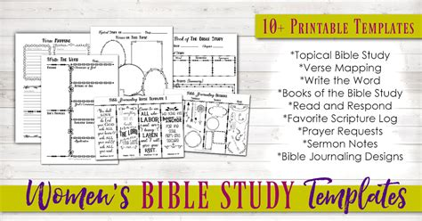 bible study template family bible study toolkit bible study resource bundle