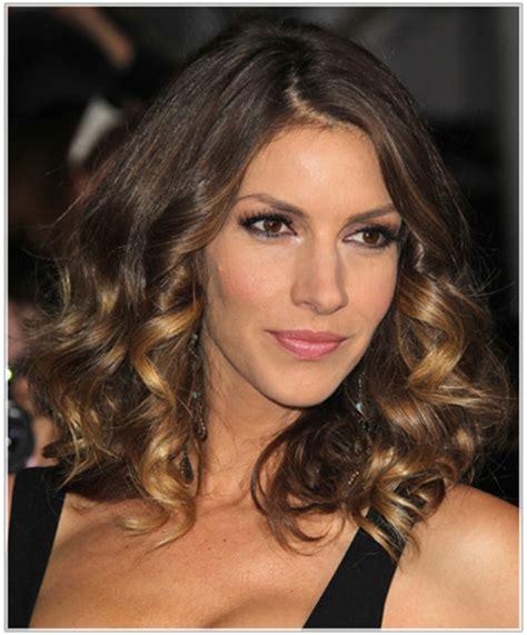dawn olivieri hairstyles dawn olivieri s shoulder length hairstyles celebrity