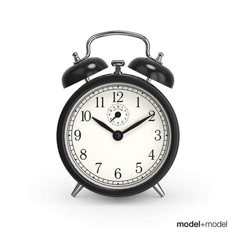 wind up alarm clock 3d model max obj fbx cgtrader