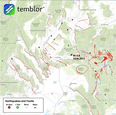 earthquake yellowstone seismic activity increase seen in idaho and greater