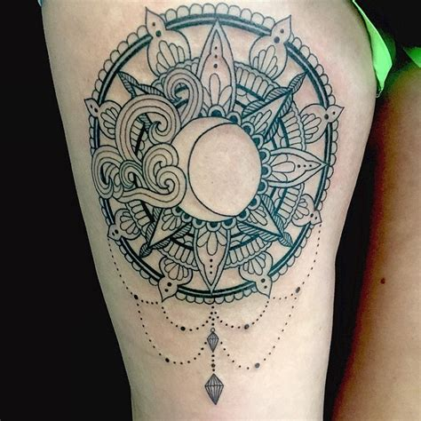 tattoo mandala sun moon tattoo sun art on instagram mandala pinterest