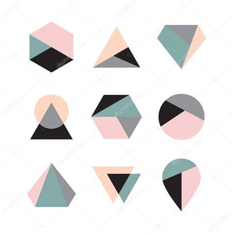 geometric pattern logos 기하학적 로고 디자인 스톡 벡터 169 hellena13 55144969