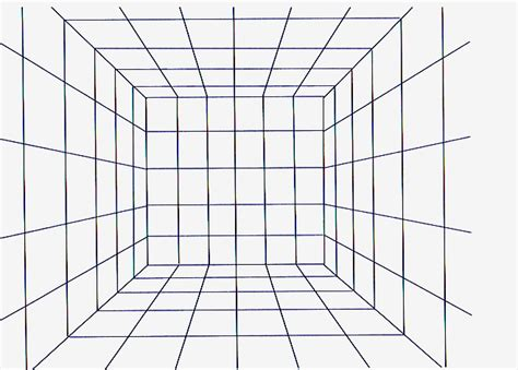 grid drawings templates perspective grids