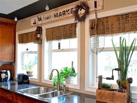 rustic kitchen curtains burlap best ideas rustic kitchen