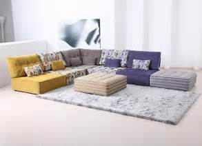 floor sofa 27 splendidly comfortable floor level sofas to enjoy